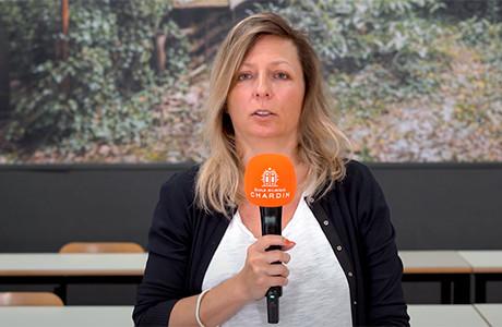 Laetitia Grail, Membre du Comité Pédagogique de l'École Bilingue Chardin