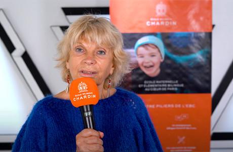Sylvie Girardet, Membre du Comité Pédagogique de l'École Bilingue Chardin